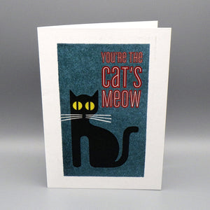 Birthday Card - You're the Cat's Meow