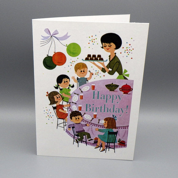 Birthday Card - Cupcake Party
