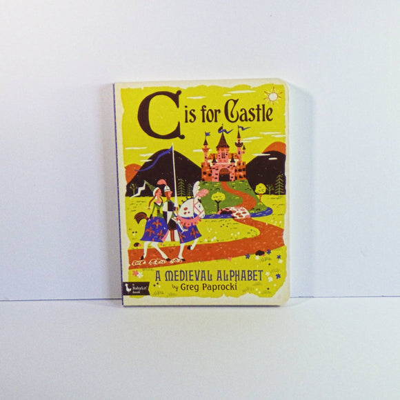 Children's Book - C is for castle