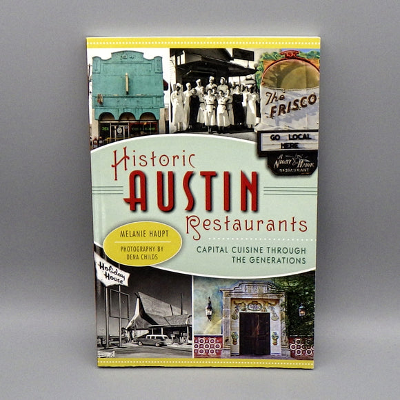 Book - Historic Austin Restaurants