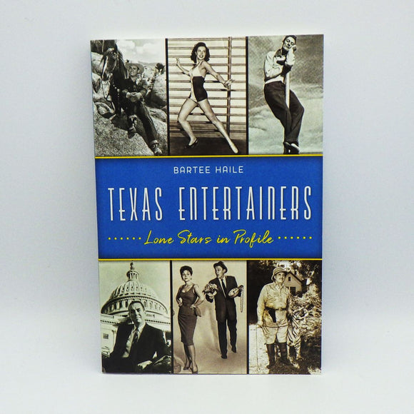 Book - Texas Entertainers