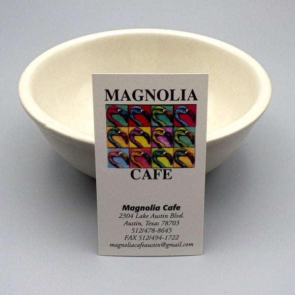Souvenir Bowl from Magnolia Cafe West