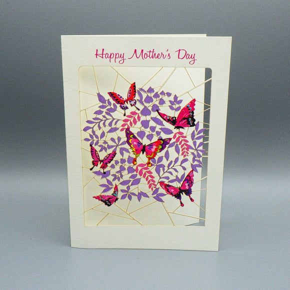 Mother's Day Card - Cutout Pattern