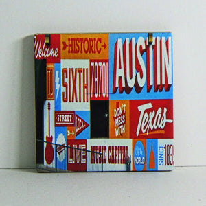 Ceramic Tile Coaster - Historic Sixth Street Mural