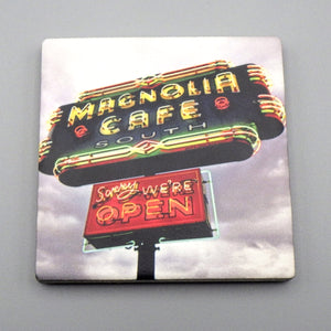 Ceramic Tile Coaster - Magnolia Cafe