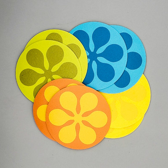 Modfest Vinyl Coasters [Set of 8]