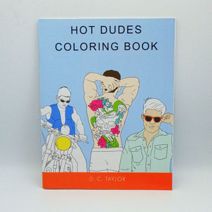 Coloring Book - Hot Dudes