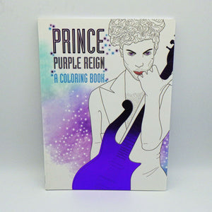 Coloring Book - Prince Purple Reign