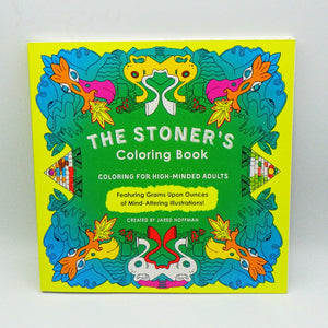 Coloring Book - The Stoner's Coloring Book