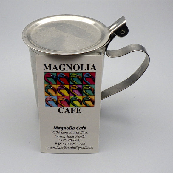 Souvenir Stainless Steel Creamer from Magnolia Cafe West