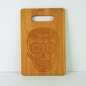 Wooden Cutting Board - Calavera