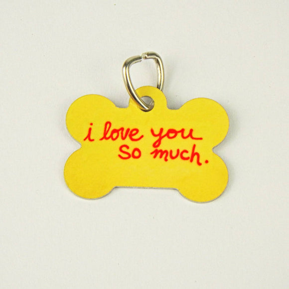 Dog Tag - I Love You So Much