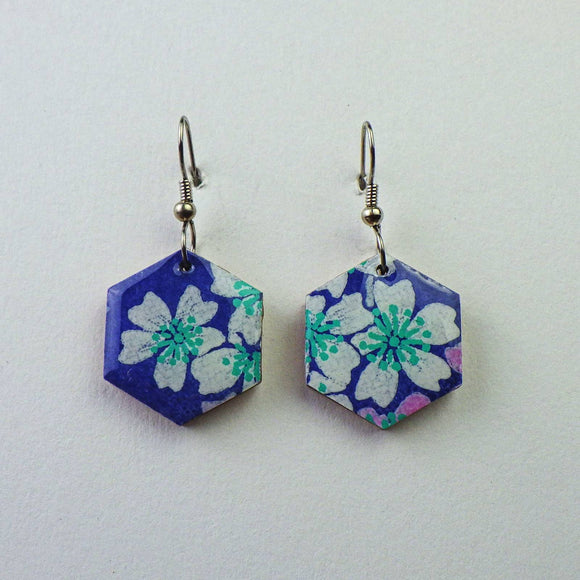 Earrings - Hexagon by PrettyKiku