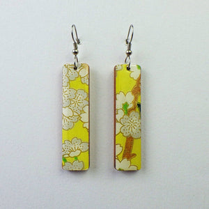 Earrings - Long Cherry Blossom by PrettyKiku