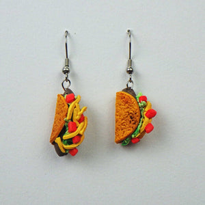 Earrings - Tacos by Adrienne Balkany