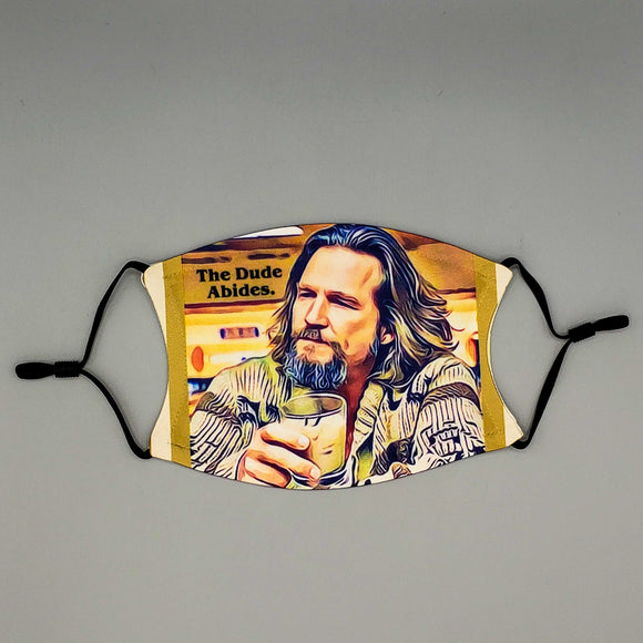 Face Mask with Filter - The Dude Abides