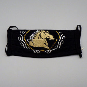 Embroidered Face Mask by Mayan Expressions [Horse]