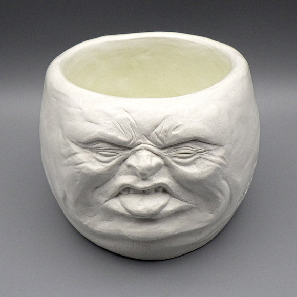 Face Pot - Yuck by D. Edward Murray