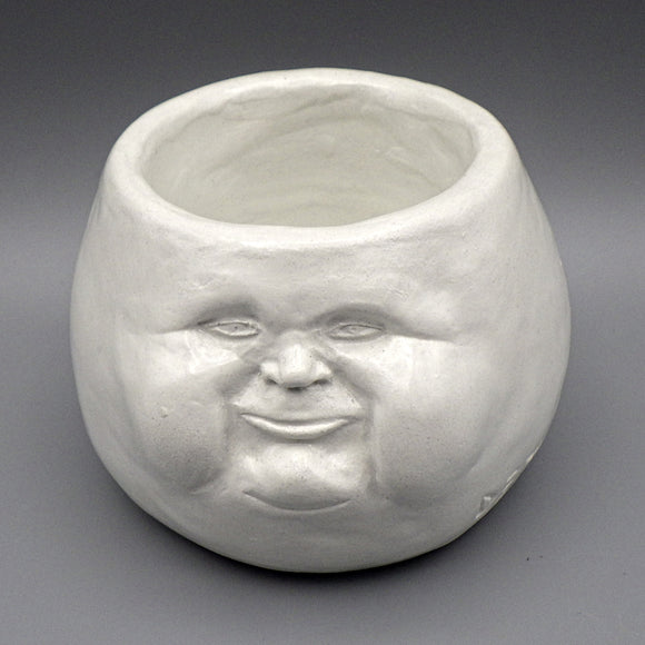 Face Pot - Zen by D. Edward Murray