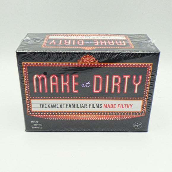 Party Game - Make it Dirty