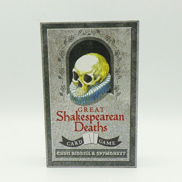 Card Game - Great Shakespearean Deaths