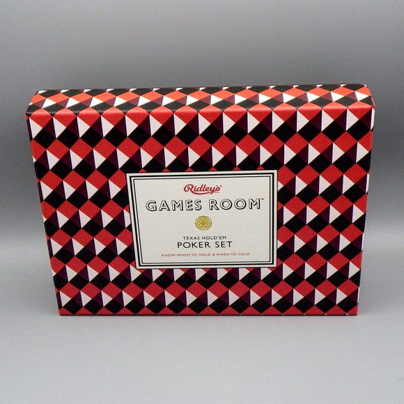 Game - Texas Hold 'Em Poker Set