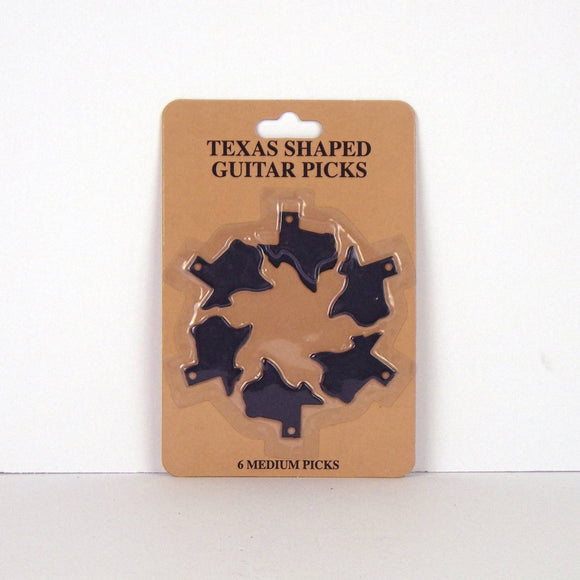 Texas Shaped Guitar Picks