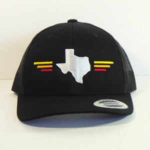 Hat - Texas State Tri-color Stripes