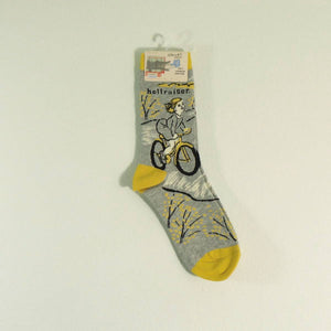 Women's Crew Socks - Hellraiser