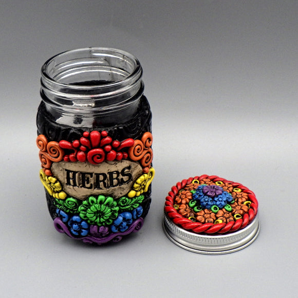 Herb Jar - by Adrienne Balkany