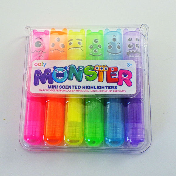 Mini Highlighters: Monster