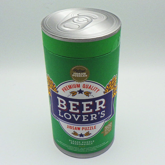 Jigsaw Puzzle - Beer Lover's (500 Pcs)