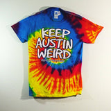 Shirt - Tie Dye Keep Austin Weird