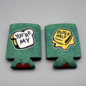 Collapsible Koozie - You're My Butter Half