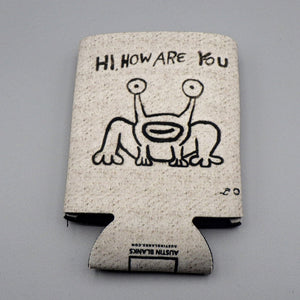 Collapsible Koozie - Hi, How Are You?