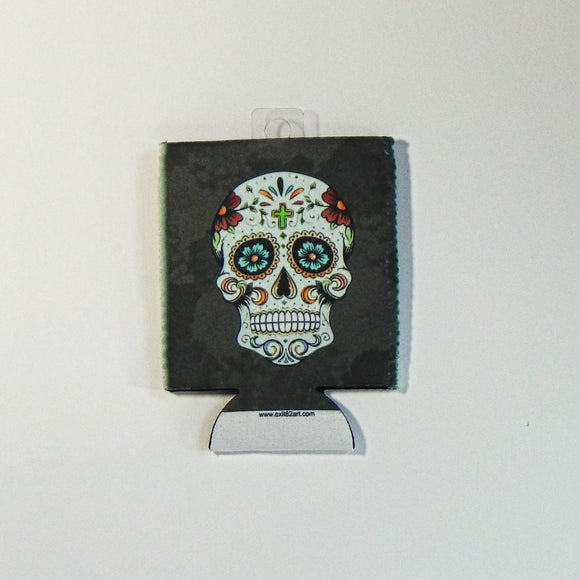 Koozie - Collapsible Sugar Skull