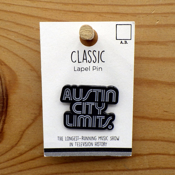 Enamel Lapel Pin - Austin City Limits