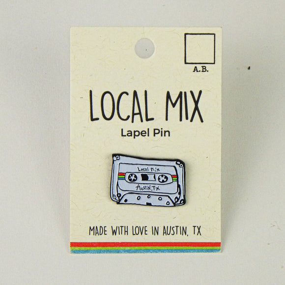 Enamel Hat Pin - Local Mix