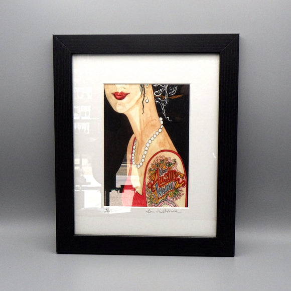Framed Print - Tattoo by Connie Adcock (5