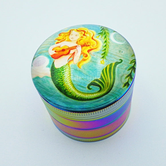 Large Herb Grinder - Mermaid by Eya Claire