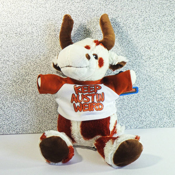 Plush Toy - Keep Austin Weird Longhorn