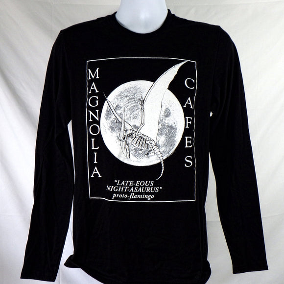 Long Sleeve Shirt - Magnolia Proto-Flamingo Black