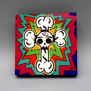 Magnet - Day of the Dead by Frenzy Art
