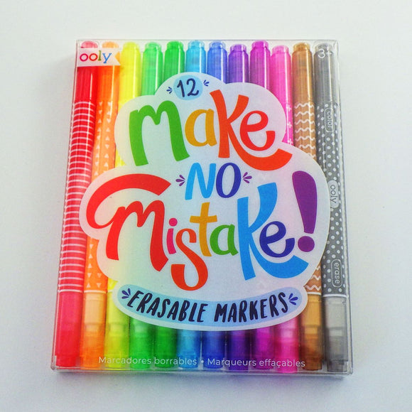 Erasable Markers: Make No Mistake