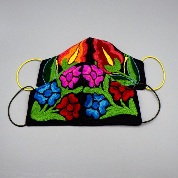 Embroidered Face Mask by Mayan Expressions