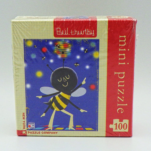 Kids' Mini Jigsaw Puzzle - Bee (20 Pcs)