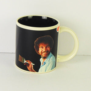 "Ceramic Coffee Mug - Bob Ross Magic ""Self-Painting"" Mug"