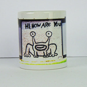 Ceramic Coffee Mug - Hi, How Are You?
