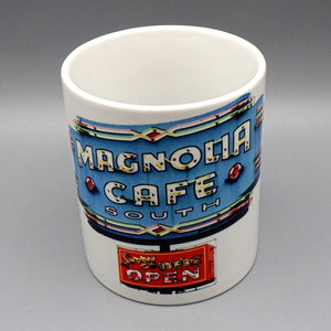 Ceramic Coffee Mug - Magnolia Cafe