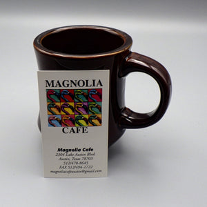Souvenir Ceramic Coffee Mug - Magnolia Cafe Brown